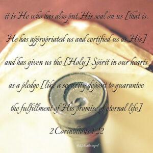 2 Corinthians 1:22