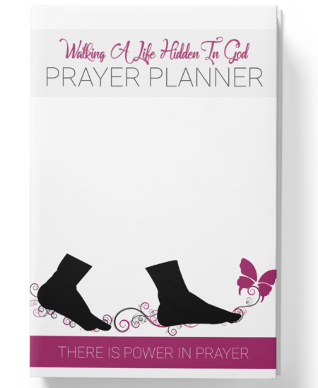 Hidden In God Prayer Planner