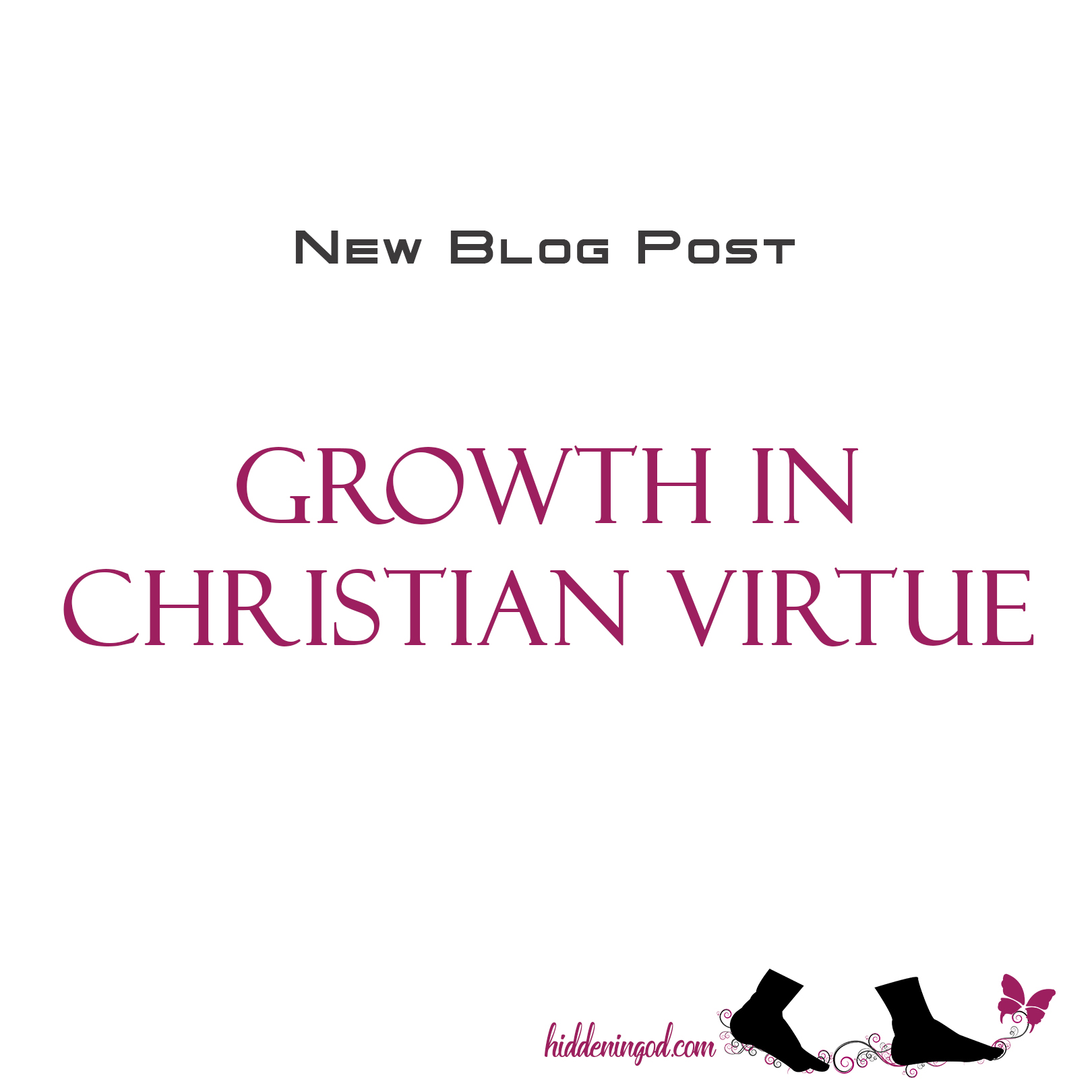 Growth in Christian Virtue Post