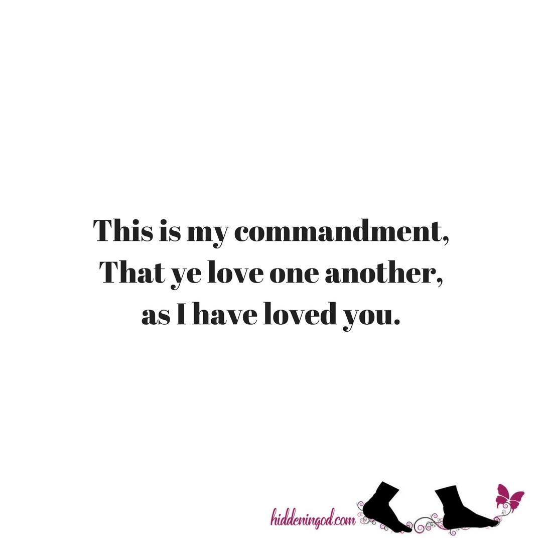 Commandment To Love