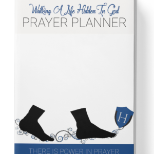Hidden In God Prayer Planner Mens Edition