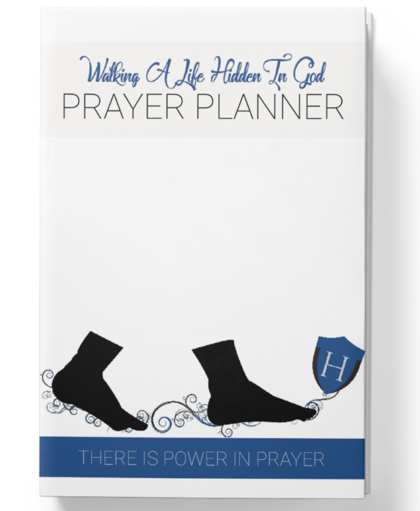 Hidden In God Prayer Planner Mens Edition