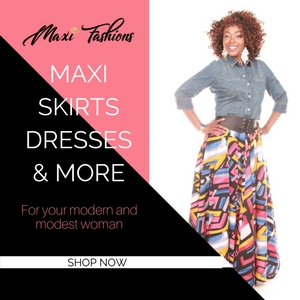 Maxi Fashions Ad