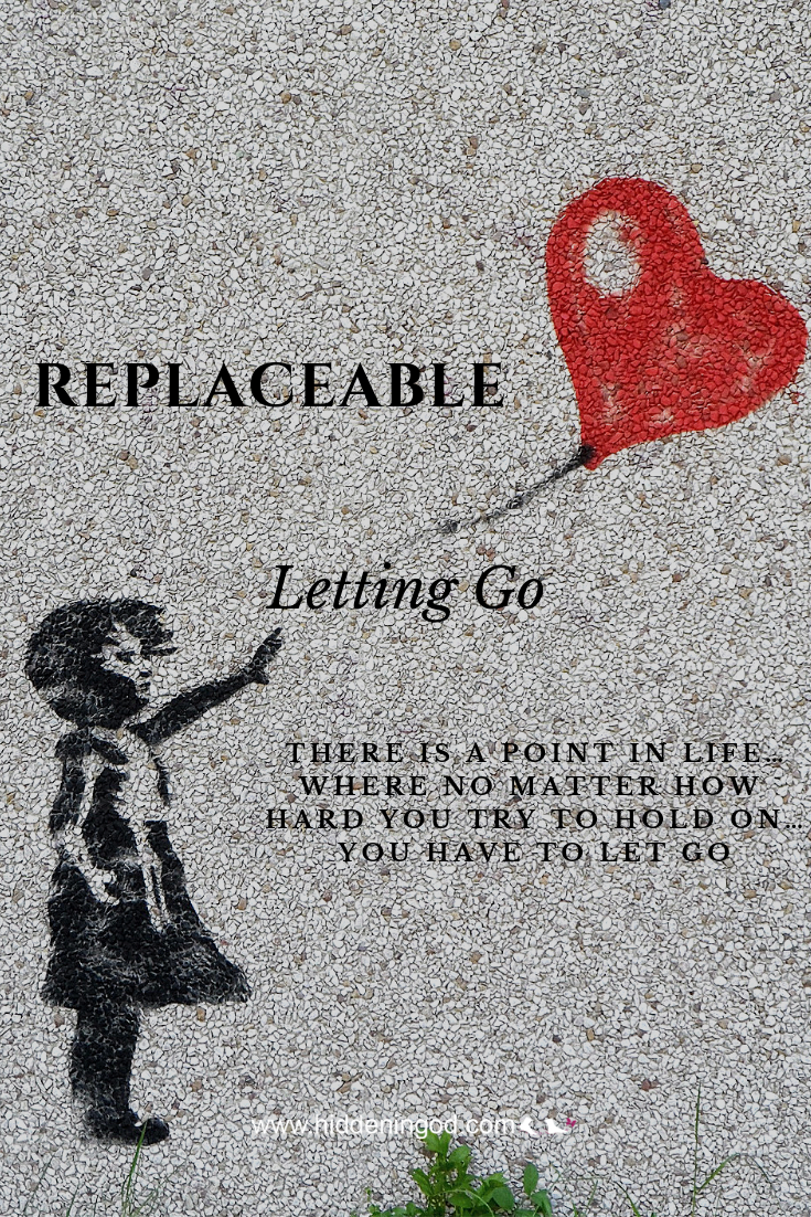 There is a point in life…where no matter how hard you try to hold on…you HAVE TO let go.