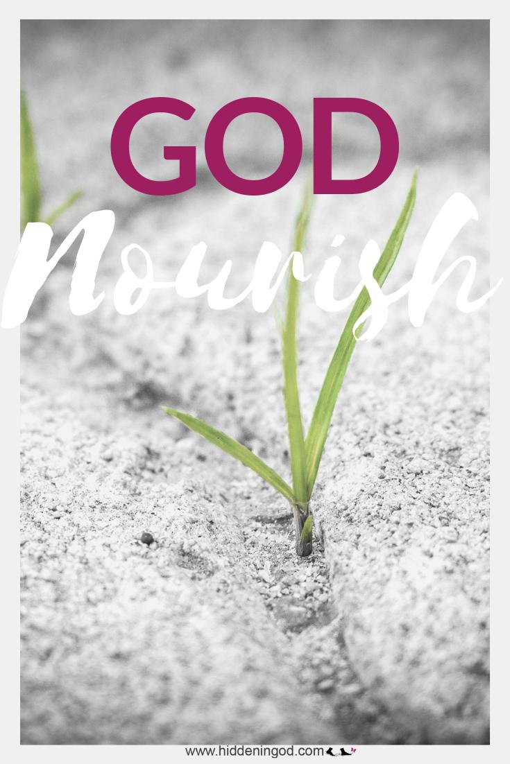 God Nourishes