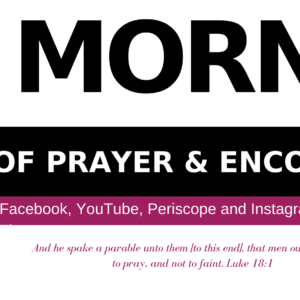HOPE Mornings Prayer