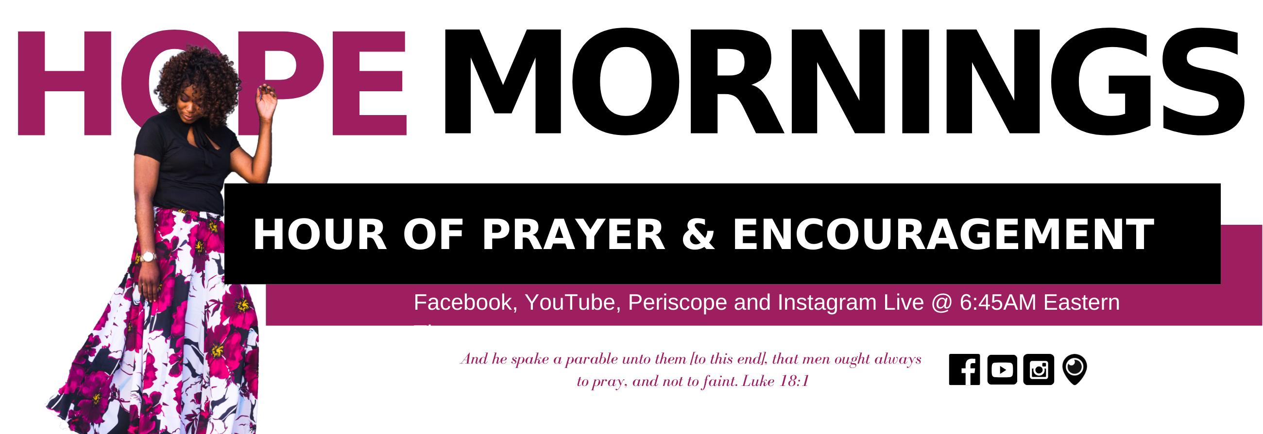 HOPE Mornings Prayer