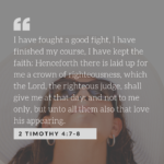 2 Timoth 4:7-8 scripture
