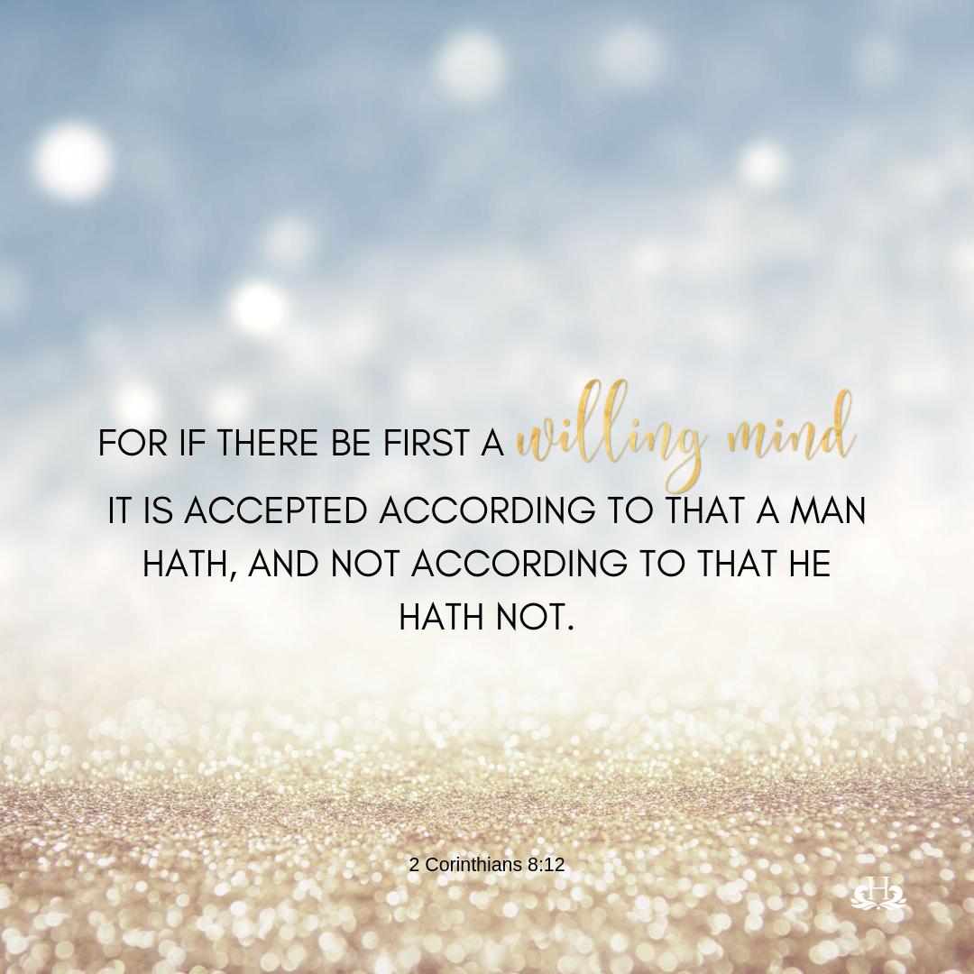 2 Corinthians 8:12