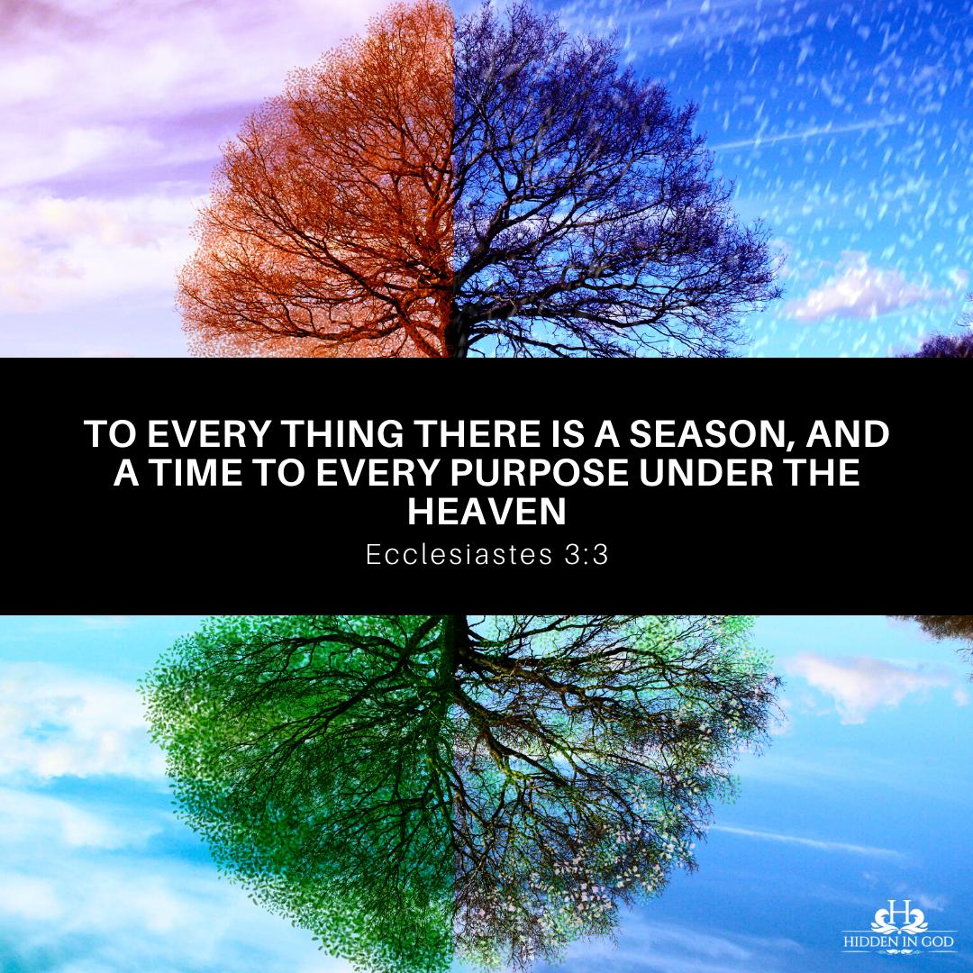 The Seasons of Faith