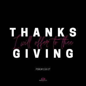 Psalm 116:17