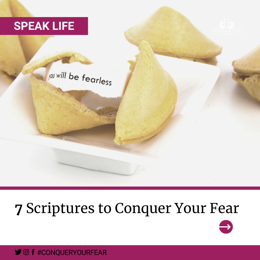 7 Scriptures to Conquer Your Fear