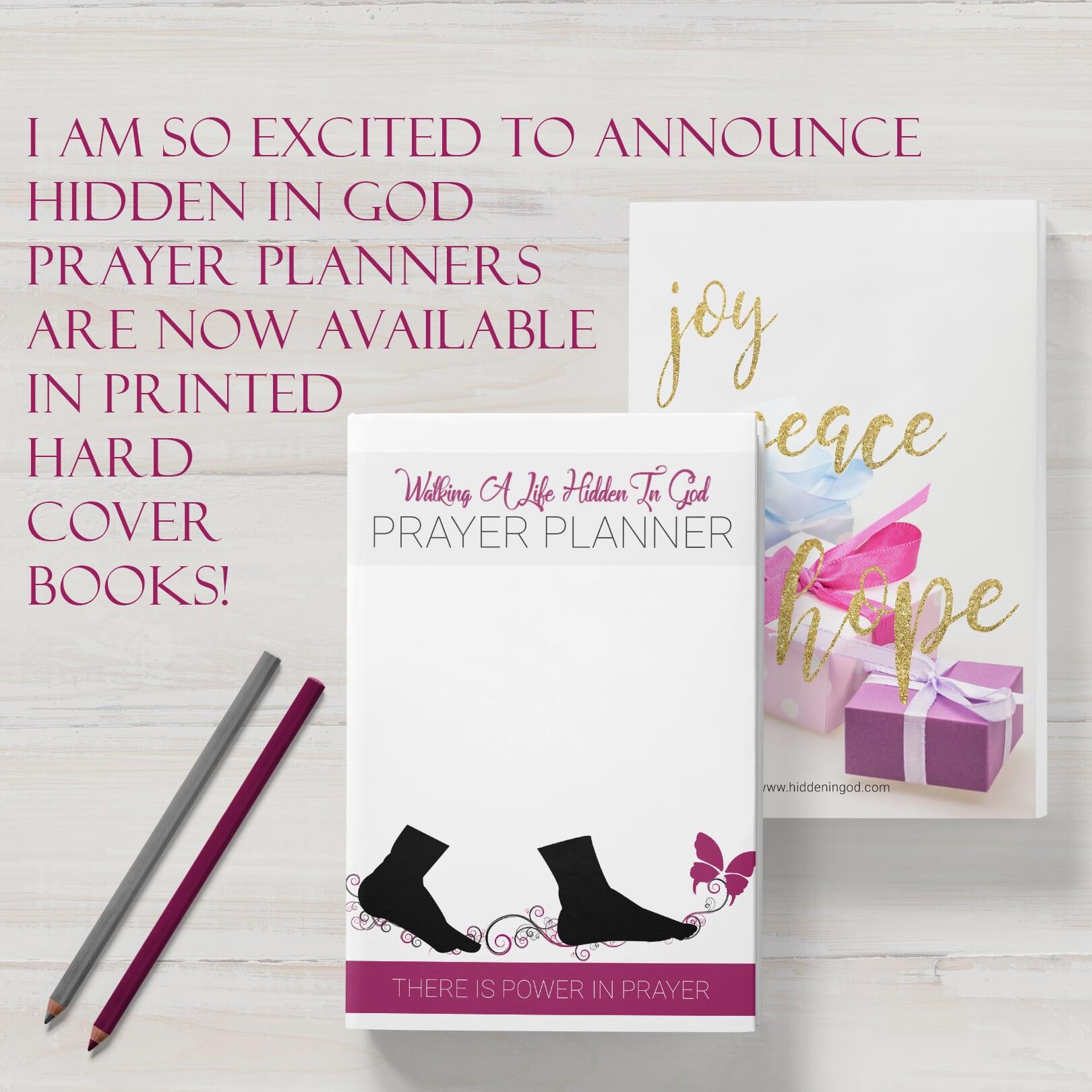Prayer planner ad